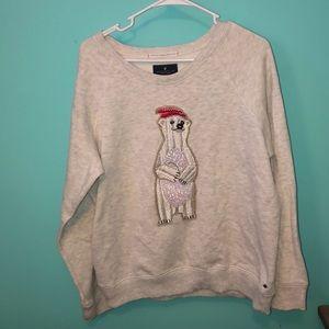 American Eagle Christmas Sweatshirt